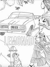 Coloring Pages Pitcher Beyonce Lemonade Stand Template Printable Sheets Cardi Getcolorings Minaj Nicki Getdrawings sketch template