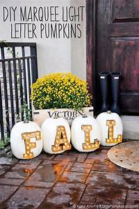 15, Amazing, Diy, Pumpkin, Decorations, You, Can, Make, This, Fall
