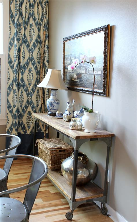 Dining Room Console Table Inspired Room Spring Decor They