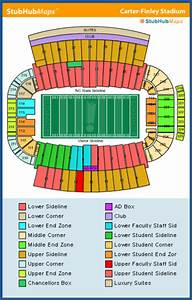 Penn State Student Section Seating Chart Nc State Football Carter Finley Stadium Espn