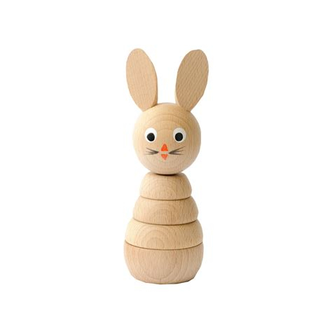 decorative boxes leo wooden toys stacking rabbit