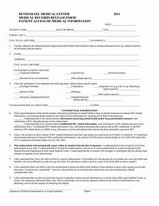 best photos of printable medical release form free With free emr templates