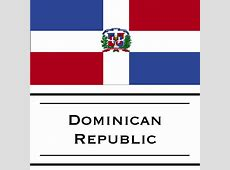 Dominican Republic flag – Woody World Packer