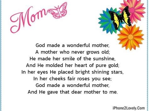 short  mother day poems  quotes yard