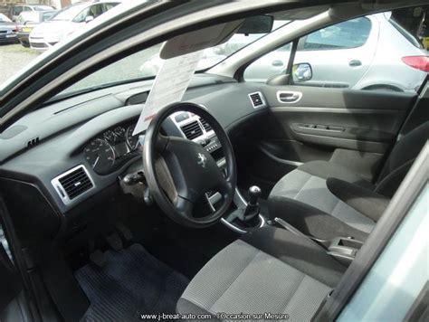 si鑒e peugeot 307 sw occasion peugeot 307 sw 1 6 hdi 110 confort pack gris vendu breat auto