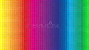 Color Spectrum Abstract Wheel  Colorful Diagram Ba Stock