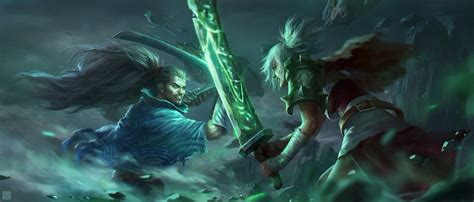league  legends yasuo wallpapers wide gamers wallpaper