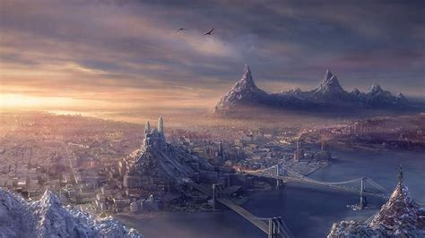 fortress   ruins    city wallpapers