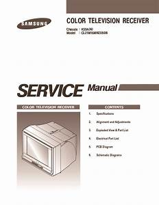 Samsung Samsung Service Manual Tv Cl21m16mn Chassis Ks9a