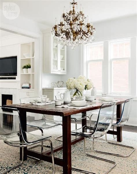 Ikea Ghost Chairs And Table by 43 Best Images About Dinning Room Table On