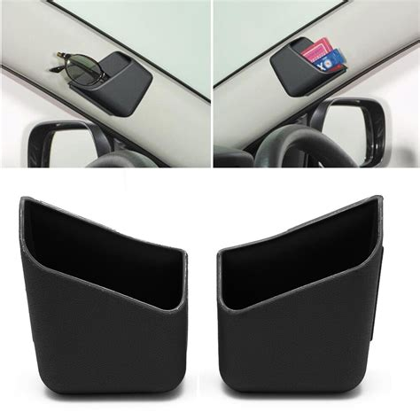 black box auto 2x universal car auto accessories glasses organizer
