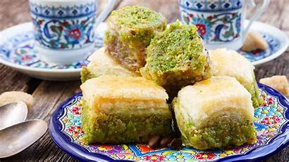 Baklava Turkish Turkey Desserts Traditional Catalhoyuk God