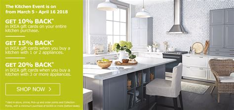 ikea canada kitchen event starts today canadian