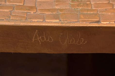 mont de v 233 nus bronze table by ado chale at 1stdibs