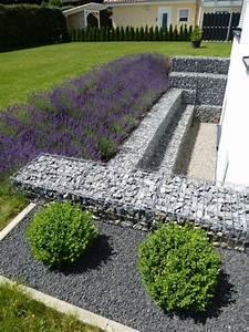 Steine Zum Bepflanzen : hangsicherung hangbefestigung mit gabionen ~ Eleganceandgraceweddings.com Haus und Dekorationen