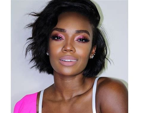 Black Hairstyles For Relaxed Hair by 6 Relaxed Hair Looks From Instagram That Ll Make You