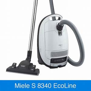 Miele s 8340 ecoline lotusweiss im vergleich staubsauger for Staubsauger miele s 8340