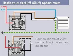 Interrupteur Volet Roulant Leroy Merlin : branchement volet electrique forum d 39 entraide ~ Melissatoandfro.com Idées de Décoration