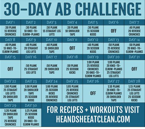 day ab fitness challenge
