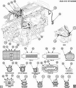 2001 Pontiac Montana Wiring Harness  Engine