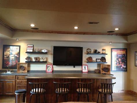 baseball themed basement wet bar basement bar designs