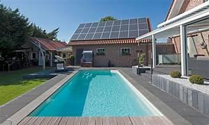 pool und gartengestaltung pool magazin With französischer balkon mit garten schwimmbecken