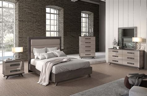 grey lacquer bedroom set ef gabbie modern bedroom furniture