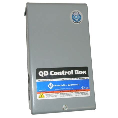 franklin control box   wire hp  motors