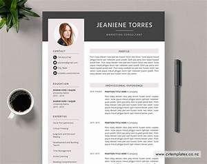Cv Template For Ms Word  Curriculum Vitae  Best Selling Cv