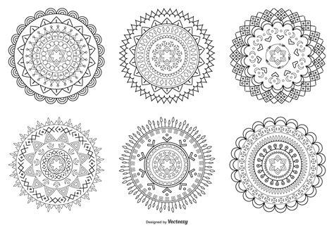 Abstract Flower Shapes by Abstract Flower Shapes Free Vectors Clipart