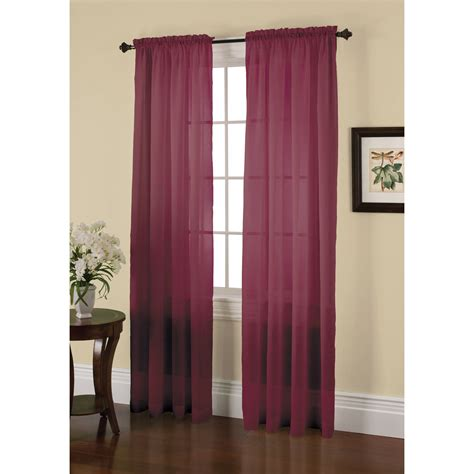 jaclyn smith crushed voile window panel shop your way