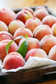 White Peach Fruit
