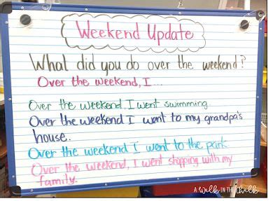 weekly esl activities    require planning time