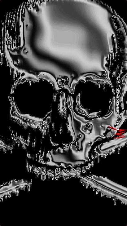 Skull Android Wallpapers Backgrounds Skeleton Awesome Iphone