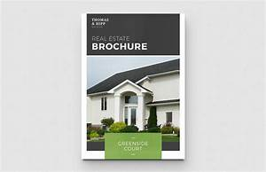 real estate brochure template medialoot With real estate booklet template