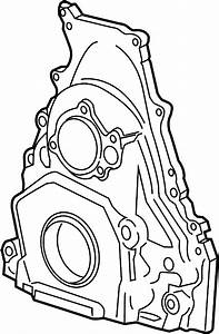 Gmc Savana 3500 Engine Timing Cover  4 3 Liter  Express