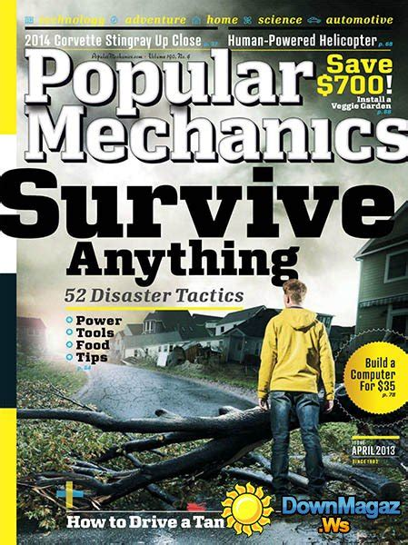popular mechanics april    magazines