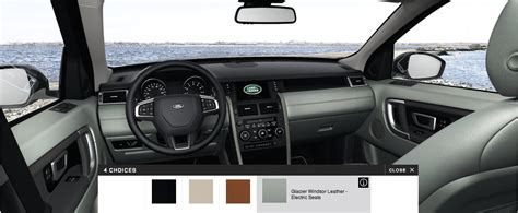 land rover discovery sport colors interior  wheel option
