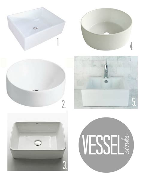 low profile vessel sink low profile bathroom sink great escale fireclay vessel