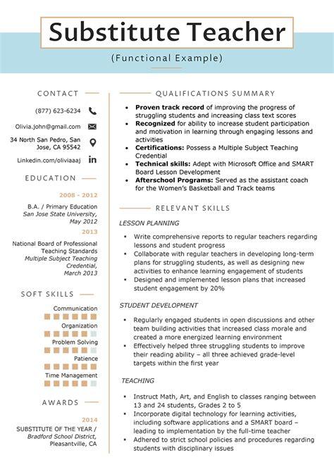 functional resume template templatedosecom