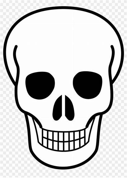 Skull Svg Simple Icon Clipart