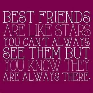 Best Friends Are Like Stars