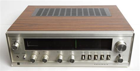 panasonic technics sa 5500 vintage am fm stereo receiver reverb