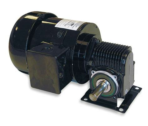 Gear Motor by Dayton Model 3xa89 Ac Gear Motor 88 Rpm 1 4 Hp Tefc 115