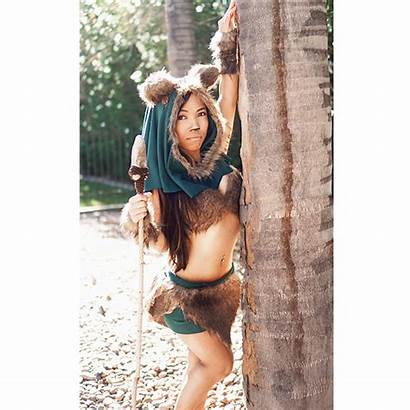 Ewok Cosplay Signed Asta Young