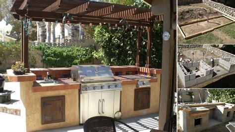 Home Design Ideas Build by How To Build A Backyard Barbecue Home Design Garden