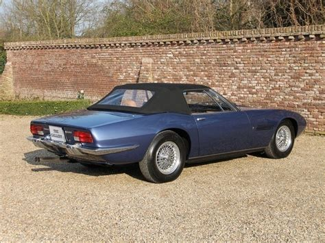 vintage maserati for sale 1970 maserati ghibli spyder 4 7 classic italian cars for