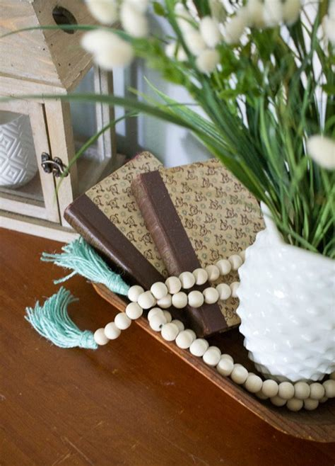 wooden beads decor ideas    incorporate