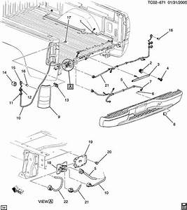 2002 Chevrolet Silverado Lamp  Chassis  Body Marker  Hazard