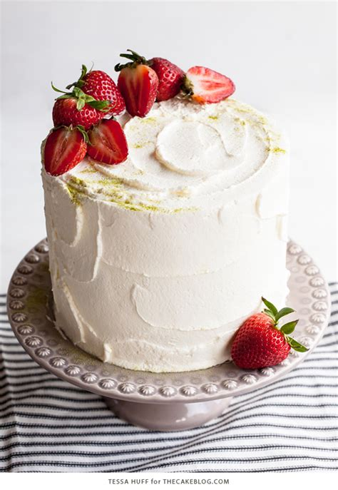 matcha strawberry cake  cake blog